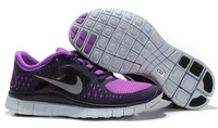 Nike Free Run 5.0 running shoes,Women Hei sport athletic shoes Shen Hui