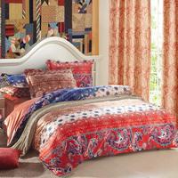 Destina 4 velvet home textile the wedding bedding four piece set duvet cover laguan