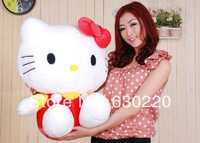Wholesale Cute Hello Kitty plush toy 35cm 14inch Soft kitty dolls for girls baby Japanese classic cartoon toys Free shipping