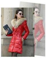 2014 Hot cheap free shipping fashion Slim thin coat cotton-padded jacket coat wholesale long sections