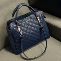 Women's bags fashion vintage 2013 women's plaid handbag female bag handbag women's bag