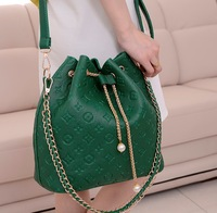 The trend of fashion 2013 women's bag messenger bag bags embossed women's handbag fashion handbag