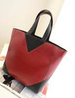 2013 women's fashion handbag color block fashion vintage bag portable bag messenger bag women's bags