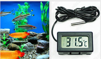New Mini Household Aquarium LCD Display electronic Digital Thermometer Fish Tank Water Household Refrigerstor Thermometers