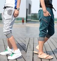 Hot new Men's  Sports Gym Jogger Casual Harem Pants Trouser 4Colors