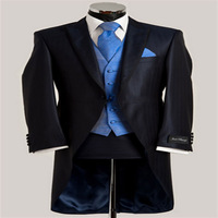 men's new style tuxedo top quality 100% hand made