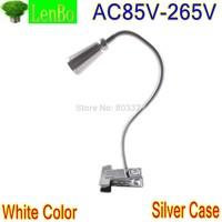 New Flexible style High Power White color table lamp 3W LED reading lighting desk lamps LD50