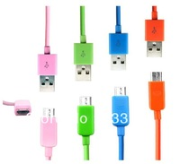 Free Shipping!!5000pcs Micro USB Charger Cable for Samsung i9300 Galaxy S3 SIII Xperia S HTC One X Blackberry NOKIA