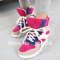 2013 Winter casual elevator shoes Isabel Marant female shoes Velcro Strap single boots Women's autumn shoes free shipping