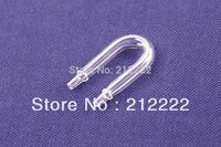 free shipping 5 pcs glass U shape tube  for aquarium CO2  diffuser, in side diameter: 10mm