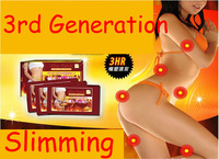 The Third Generation!!! 1bag = 10pcs Slim Patch Massager Body Weight Loss Slimming Patches Health Care,30pcs