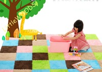 New arrival Velvet Carpet,Baby Play Mats patchwork living room Floor Puzzle,Free shipping