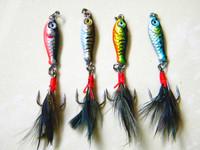 10pcs metal jig Lead Fishing Lure MINI LEAD FISHING LURE BASS WALLEYE 6G Fishing Lure Lead Jigs (151#) free shipping