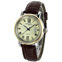 Men's watch commercial fashion genuine leather function male watch xgm6049-156360