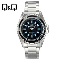 Q q mens watch trend fashion mens watch pointer quartz strip mens watch q654j202y