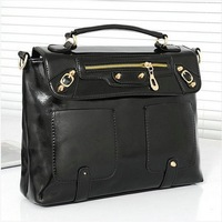 New Woman Motorcycle Bag Vintage Handbag one shoulder Massenger Bag Women's fashion Purses