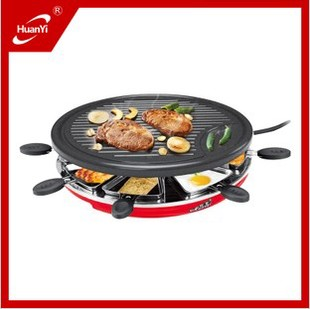 Hy9091a stainless steel electric heating BBQ grill barbecue pan household meat machine(China (Mainland))