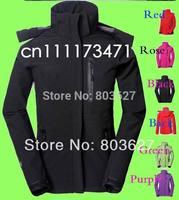 New model Women's winter windstopper Jackets sport Outerwear Camping Windproof Coats soft shell jacket Green