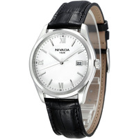 Nivada genuine leather classic casual male watch gq6105
