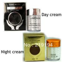 Skin Care SIMENGDI Phyto-Silver Balancing Day Cream +Bio gold pearl cream night cream tightening firming skin