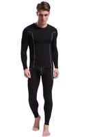 Men Bamboo Fiber Thermal Underwear Set Soft Warm Tight Long Johns Tops and Panties Free shipping