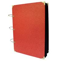 diy handmade scrapbooking paste type photo album vintage scrapbook corner posts