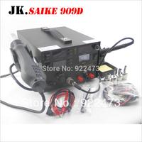 S002 saike 909D rework station hot air gun soldering station with power 3 in 1 220V or 110V 700W