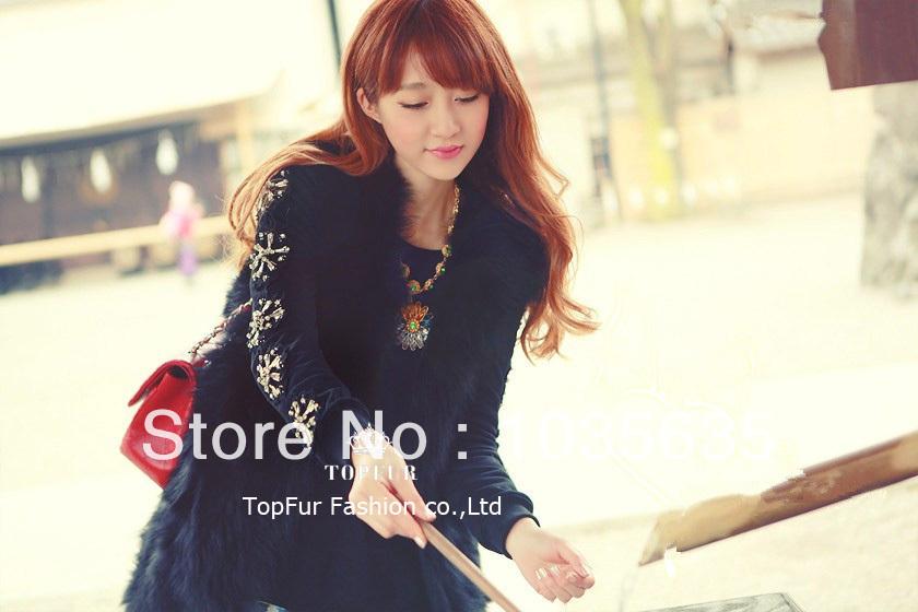 Женская одежда из меха TopShopping EMS TPTF108 цена и фото