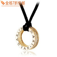 Female all-match letter necklace sweater pendant  Free shipping
