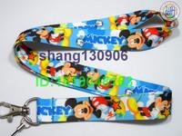 Hot Sale Free shipping Mickey Mouse Print phone/mp3/mp4 key lanyard ID phone strap vendor