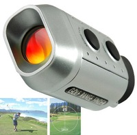 HOT! Handheld Digital 7x Golf Range Finder Scope Rangefinder ,Golf necessary ! Portable ! free shipping