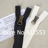 Free shipping 50cm to 60cm 5# single head K resin YKK zipper DALH long coat jacket down garment accessories accessories