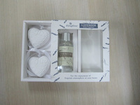 wholesale Air fragrance gift box,30ML/Set,gypsum, essential oil diffuser aromatherapy ,car&home hangings with heart !