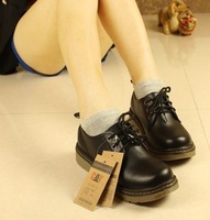 Japanese School Uniform Shoes Uwabaki Platform Lolita Pricess Round Shoes New