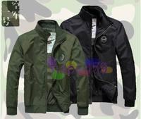 1pcs free ship Air Force One ASST men winter jacket military insignia U.S. Air Force collar uniform man jacket coat