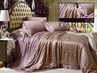 Home textile bedding kit smoothens silk four piece set 2012 06