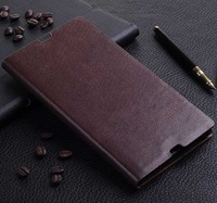 Genuine Leather case For sony xperia z Ultra XL39h leather case,wallet case  with stand, xperia z ultra case  MSN 003