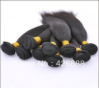 Straight Natural Color Brazilian Virgin Hair Extension