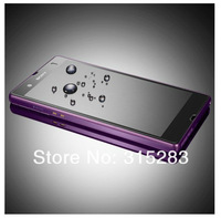 100pcs  Thickness Tempered Glass Screen Protection Film For Sony Xperia Z L36H C6603 Free shipping With Retail Box