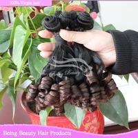 grade 8a new fashion ombre brazilian hair 100% unprocessed virgin hair romance bouncy curly virgin remy hair 2bundles 8small pcs