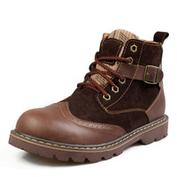 Men's fashion casual shoes Male boots Martin Boots Tooling boots