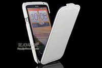 GETLAST Luxury Fashion Sexy Snake Skin Style Flip Leather Hard Back Case Cover + Screen Protector For HTC One X