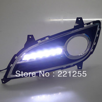 2011-2013 hyundai ELANTRA car fog lamp led daytime running towns, free shipping