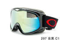 Free shipping Double-layer anti-fog ski goggles motorcycle goggles sediment control windproof mountaineering goggles