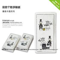 Mina 's creative color printing napkins colored tissue paper handkerchiefs wedding couple wedding supplies 19