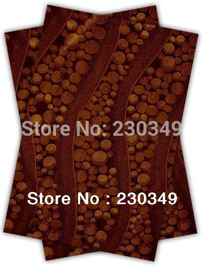 Free shippig African headtie,Head Gear, Sego Gele&Ipele,Head Tie & Wrapper, 2pcs/set ,COFFEE(China (Mainland))