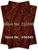 Free shippig African headtie,Head Gear, Sego Gele&Ipele,Head Tie & Wrapper, 2pcs/set ,COFFEE