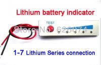 free China post shipping.Lithium battery display panel, power monitors, battery indicator plate series 1-7 DIY preferred