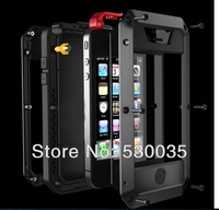 Dust Shock Waterproof shockproof  Full Protection Aluminum Strong Metal Case for iphone 5