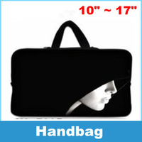 Laptop Sleeve Bag Case Carry Cover Pouch Silent pattern For 10 to 17 Inch Notebook Laptop PC